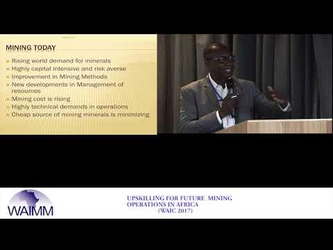 WAIC 2017 Presentation by Bashir Ahmed, Vice President - Production, Asante Gold Corporation, Ghana