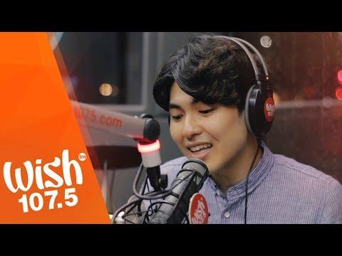 """Yohan Hwang sings """"Kung Ako Na Lang Sana"""" (Bituin Escalante) LIVE on Wish 107.5 Bus"""