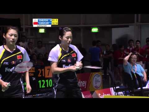 2012 YONEX Australian Open-WD-Finals-Ying Luo_Yu Luo vs. Wen Hsing Cheng_Yu Chin Chien_720P.avi