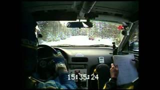 2012 Rallye Perce Neige - EC8 Farley 2