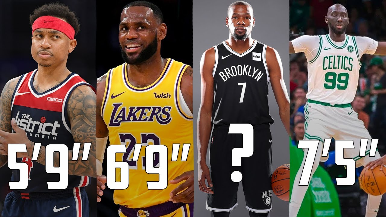 The Best NBA Player At EVERY Height In 2020...