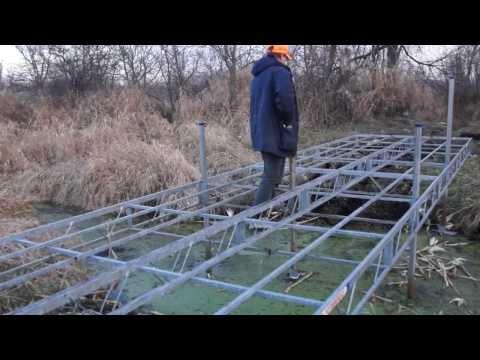 DIY ATV Creek Bridge