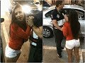 drunk girl in public at chandigarh || drunked college girl in public 2018
