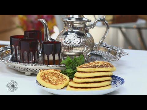 choumicha-:-harcha-à-la-semoule-façon-pancake