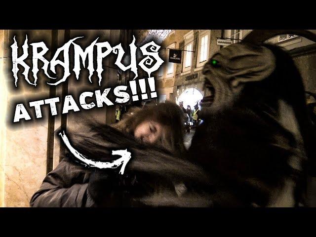 Krampus Run 2018 | ATTACKS AT KRAMPUSLAUF | Salzburg, Austria