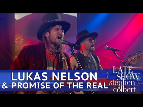 """Lukas Nelson & Promise Of The Real - """"Bad Case"""" Performance"""