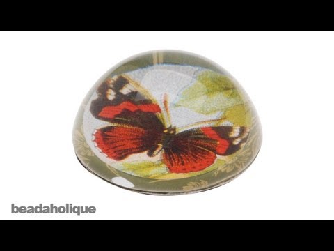 How to Make a Glass Dome Paperweight