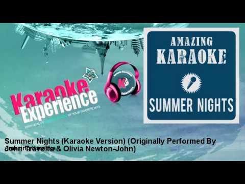 Amazing Karaoke - Summer Nights (Karaoke Version)