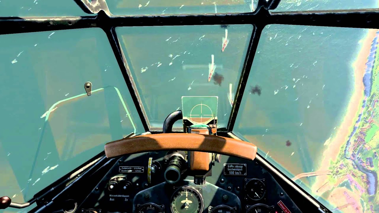 Il 2 Cliffs Of Dover Dive Bombing Dover Harbour In The