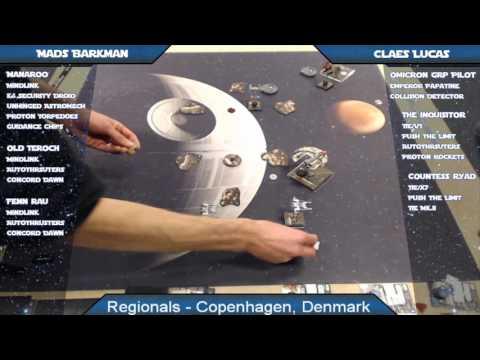 X-Wing Battle Report 65 - Copenhagen Regionals, Round 3