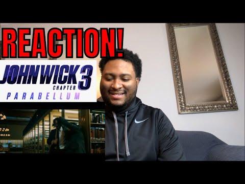 JOHN WICK 3 (2019) LIBRARY FIGHT SCENE REACTION! | KEANU REEVES MOVIE
