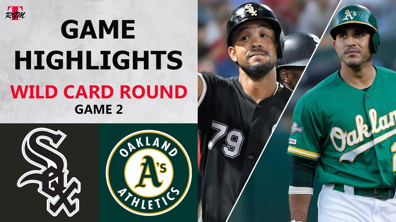 Chicago White Sox vs. Oakland Athletics Game 2 Highlights | Wild Card Round (2020)
