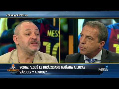 """Soria: """"Hoy Zidane ha quedado retratado con la alineación"""""""