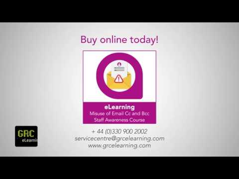 Misuse of Email Cc and Bcc Human Patch E-learning Course Demo