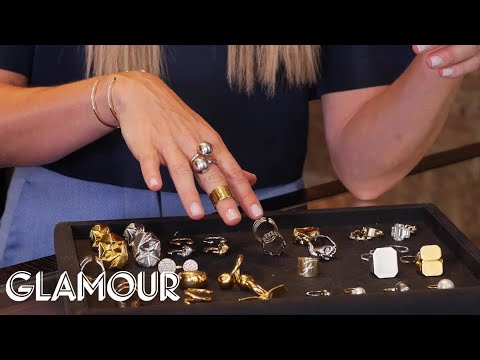 Jennifer Fisher Gives Easy Tricks For Stacking Rings - Fashion Advice | Fashion | Glamour
