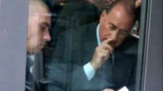 Berlusconi eating booger