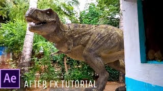 بعد الآثار التعليمي: إنشاء T-ريكس الديناصور تأثير بسهولة || ATC ||