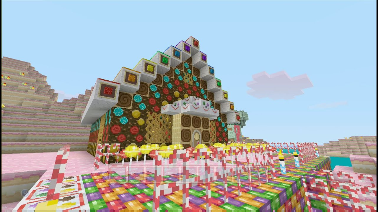 Candy Kingdom 5 Gingerbread House Pt 2 of 2 - YouTube