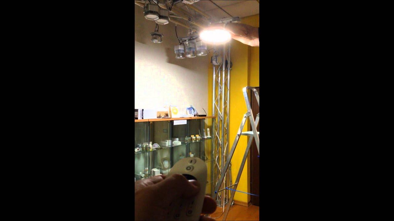 LED stropna lampa sa daljincem od 0 30W snage i boja svjetla od