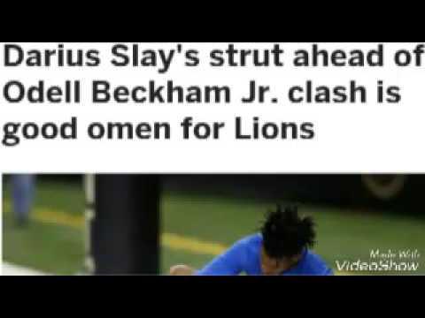 Darius Slay Vs Odel Beckham Jr Matchup!!!