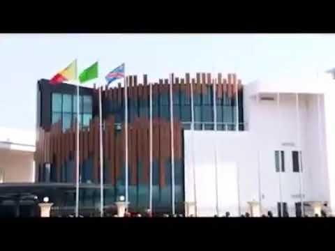 L'ARRIVÉ DU PRÉSIDENT FÉLIX TSHISEKEDI À BRAZZAVILLE, DÉNIS SASSOU NGUESSO A HONORÉ LA RDC