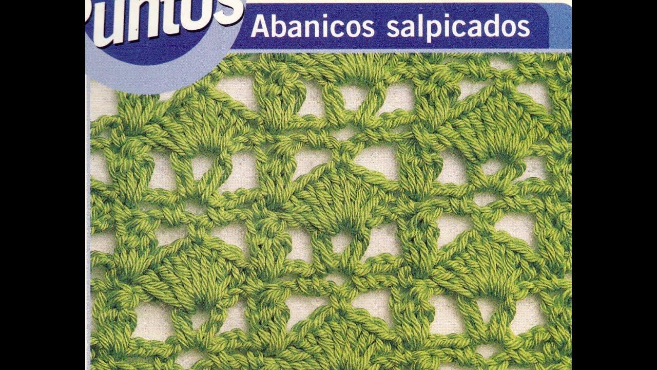 Como tejer puntos calados a crochet manual de puntos youtube - Puntos para tejer ...
