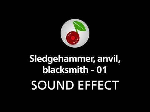 🎧 Sledgehammer anvil blacksmith - 01 SOUND EFFECT