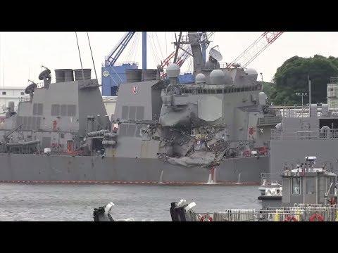 USS Fitzgerald: Vermisste Matrosen sind in ihren Kojen ertrunken