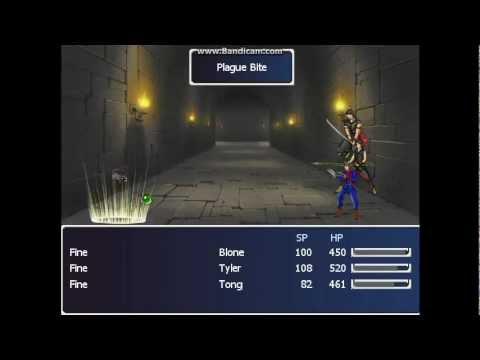 Vue - RPG MAKER GAME DRAGON SAGA 5  
