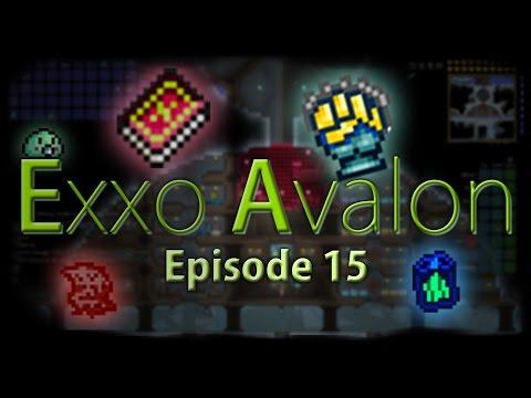 Terraria Exxo Avalon - Episode 15 - Crafting Madness