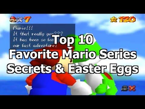 Top 10 Favorite Mario Series Secrets & Easter Eggs