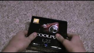 Nikon Coolpix L22 Unboxing