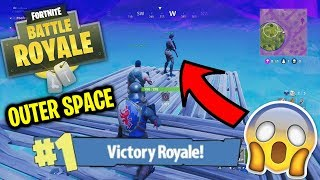 SECRET FORTNITE STRATEGY - GUARANTEED VICTORY ROYALE (OUTER SPACE sur Fortnite Battle Royale)