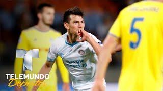 El debut perfecto de Hirving Lozano en Champions   UEFA Champions League   Telemundo Deportes