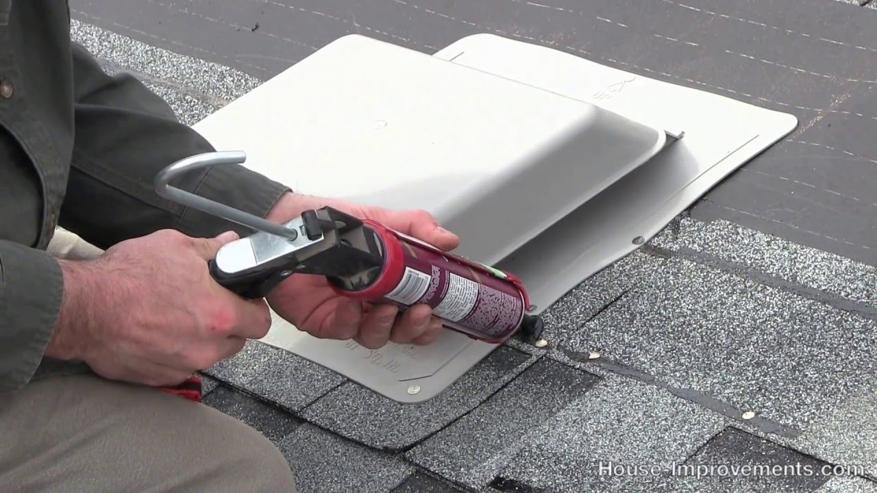 How To Install A Vent In Shingles Youtube