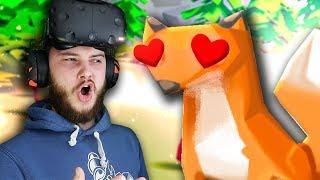ПОЧЕМУ ЖИВОТНЫЕ ТАК СТРАННО НА МЕНЯ СМОТРЯТ В ВР?! - Stupid Cupid VR - HTC Vive