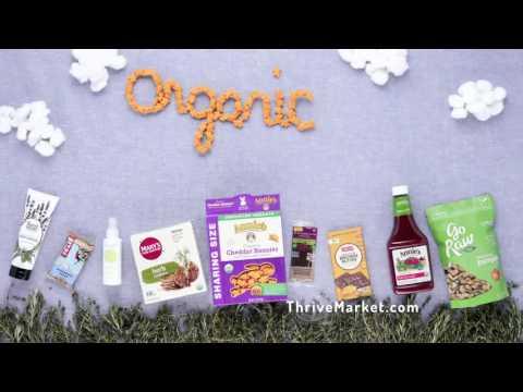 Meet Thrive Market, Your New Favorite Organic Destination