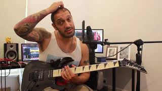 How to play 'Revolution Is My Name' by Pantera Guitar Solo Lesson w/tabs pt1