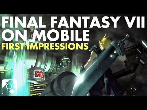 IS FINAL FANTASY VII MOBILE ANY GOOD? | Final Fantasy VII preview