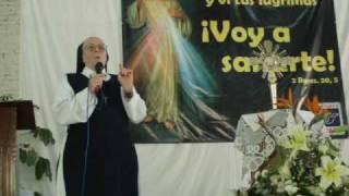 Hermana Blanca Ruiz en Merkabà Radio21 de marzo 2010 part. 5/7 cont. predicacion