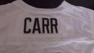 Oakland Raiders #4 Derek Carr Jersey
