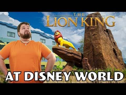 Having A Lion King Day At Disney World  - Vlog