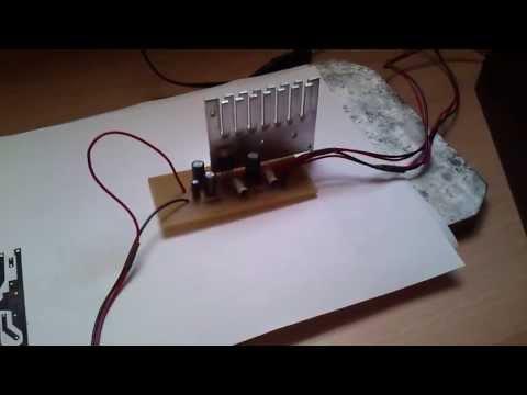 einfacher audioverst rker mit tda2003 amplifier doovi. Black Bedroom Furniture Sets. Home Design Ideas