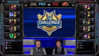 Team LoL Pro vs Denial eSports | Game 3 QuarterFinals S4 NACS #2 Summer 2014 Playoffs | PRO vs DNL