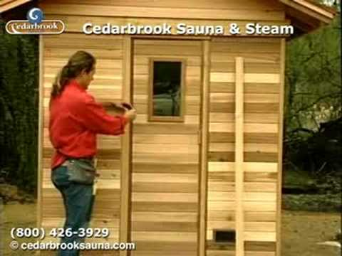 How To Build A Sauna: Sauna Door Frame