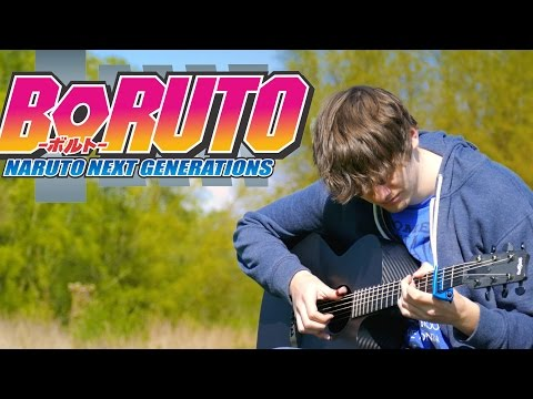 Boruto: Naruto the Next Generation  Opening 1 - Baton Road - Fingerstyle Guitar Cover