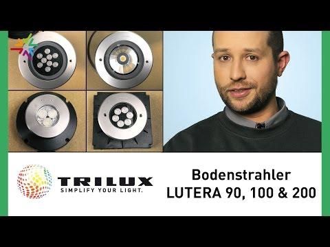Die LED Bodenstrahler TRILUX LUTERA 90 100 & 200 - TRILUX Außenleuchten
