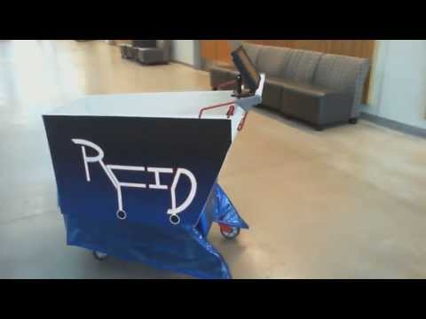 RFID Shopping Cart - Capstone Project 2013
