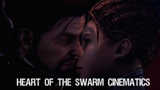 Heart of The Swarm All Cinematics