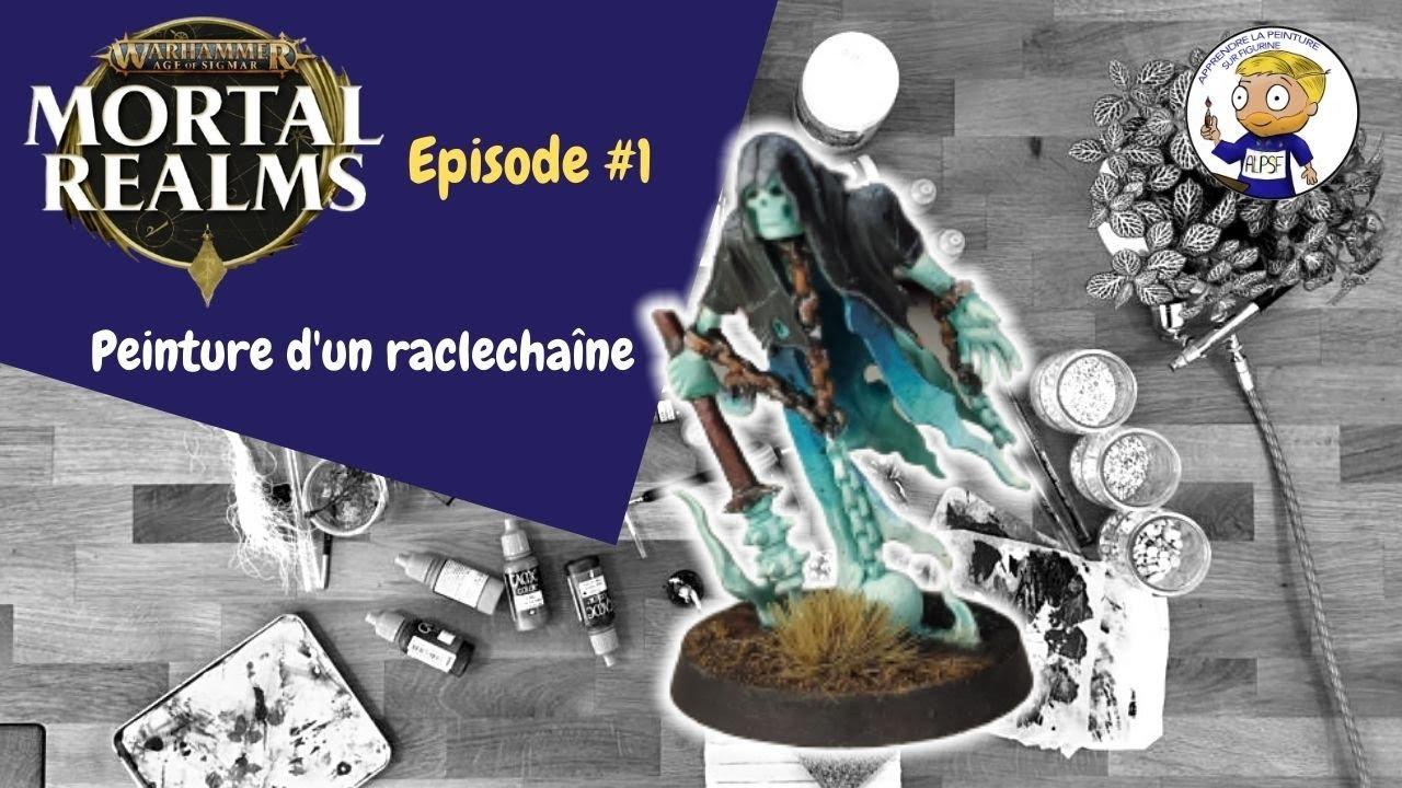 Mortal Realms numéro 1 - peinture d'un chainrasp / raclechaîne - apprendre la peinture sur figurine